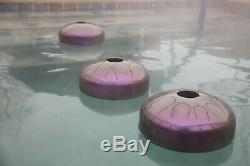 USA-made Manastone Floating Steel Tongue Drum Musical Pool Toy F Mixotonic 12