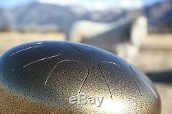 USA-made Manastone Steel Tongue Drum F Peace Scale, handpan, tankdrum, 12