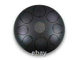WuYou 12 Inch 8 Note Steel Tongue Drum Percussion Handpan instrument Drum+Mallet