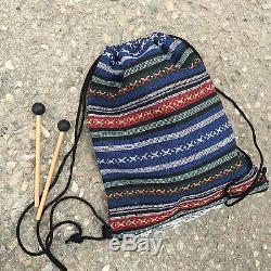 WuYou 8 19cm Steel Tongue Drum Handpan Tank, Yoga drum Free Bag+ 2mallets White