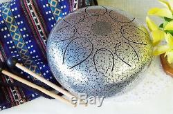 WuYou Special Notes 8 Steel Tongue Drum Handpan Tank, FREE Bag Mallet