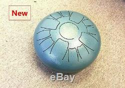WuYou Steel Tongue Drum 12 Inches Handpan Diatonic Drum Peaceful Sound WithMallet