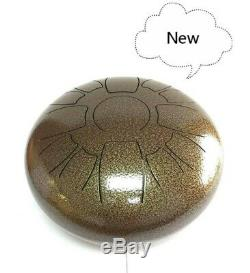 Wuyou Steel Tongue Drum 13 Notes 12 Inch Handpan Percussion Instrument Drum